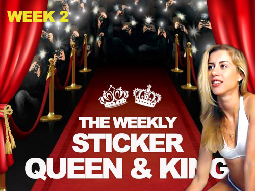 Sticker Queen and King Week 2